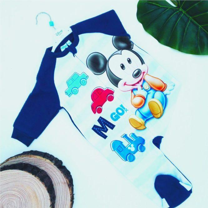 tutina topolino blu bambino