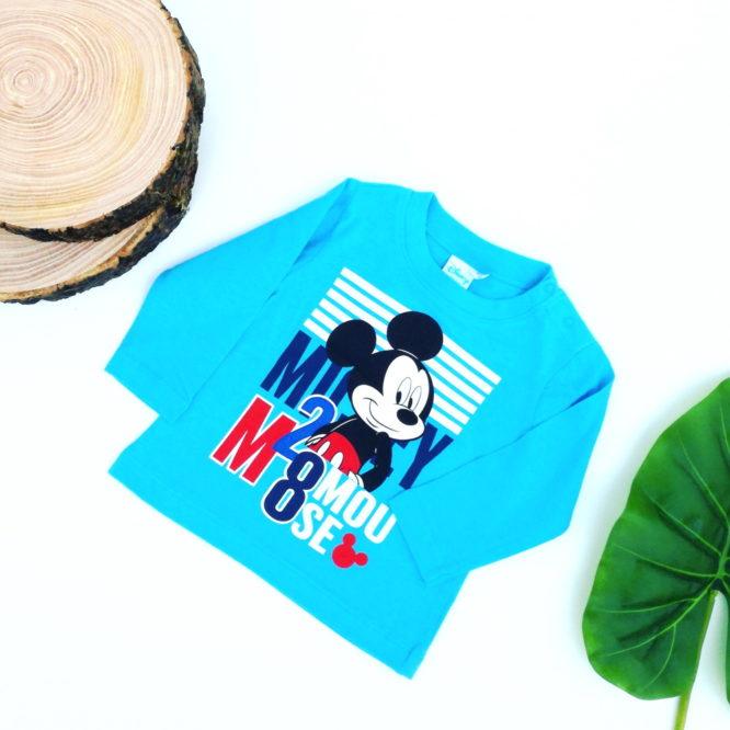 maglietta topolino celeste