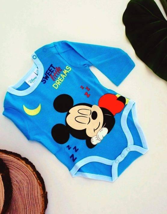 body topolino blu bambino