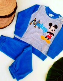 pigiama topolino blu