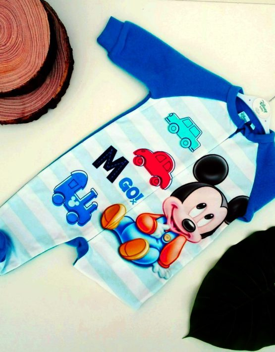 tutina topolino bambino azzurra