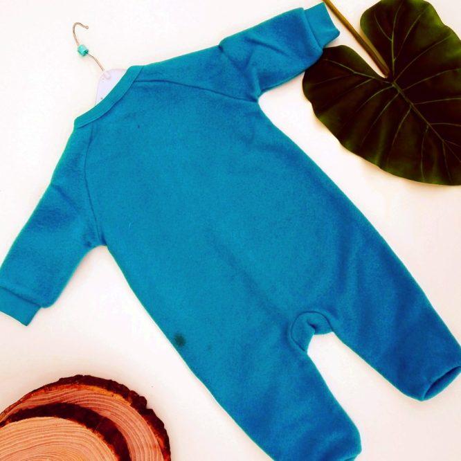 Tutina Topolino azzurra bambino
