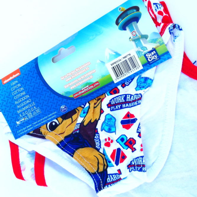 Completo intimo Paw Patrol Chase 1