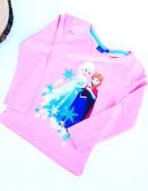 Maglietta Frozen bambina rosa