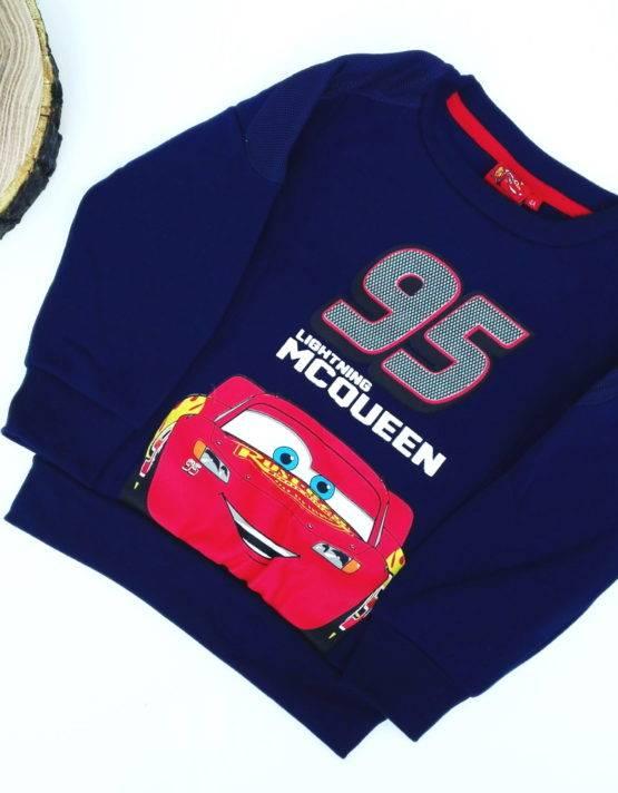 Maglione Cars bambino blu