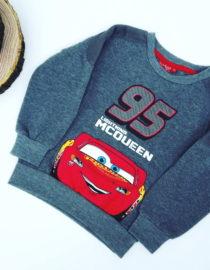 Maglione Cars bambino grigio