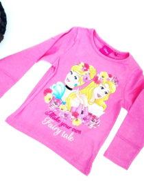 maglietta principesse disney bambina rosa