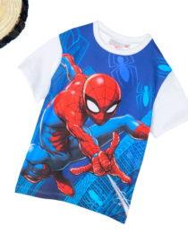 maglietta-spiderman-bianca