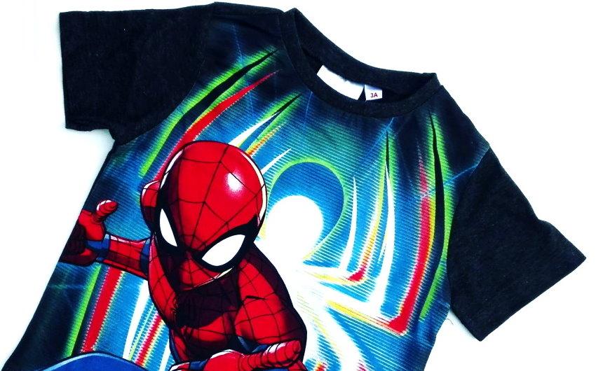 maglietta bambino spiderman