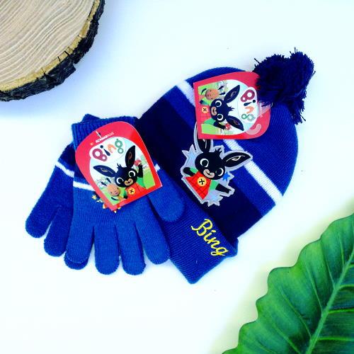 set guanti e cappello bing