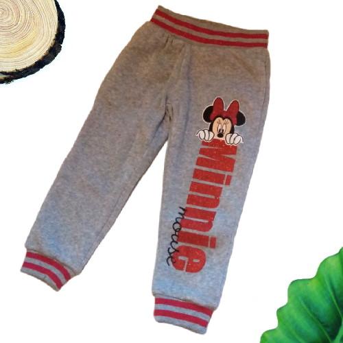 pantaloni minnie grigi
