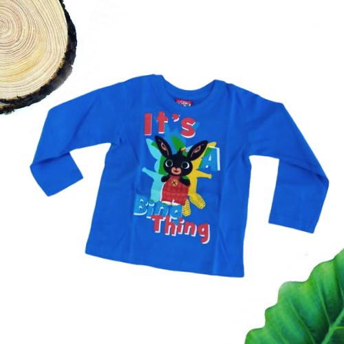 maglietta bing azzurra