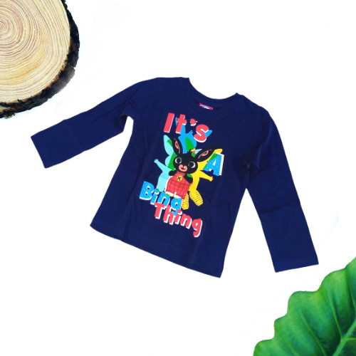 maglietta bing blu scuro