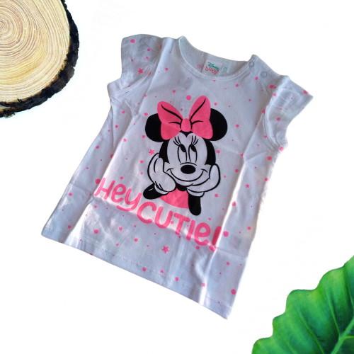 Maglietta Minnie bambina a maniche corte 1