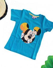 maglietta topolino turchese bambino