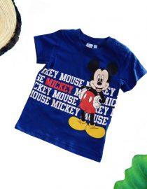 maglietta topolino neonato blu