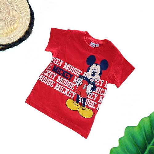Maglietta Topolino neonato rossa