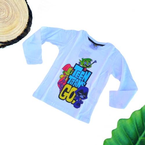 maglietta teen titans go bambino